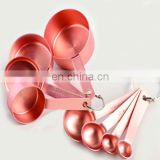 Hand-made Stainless steel round copper item , oriental dinnerware white and Red