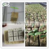 hydroponic grow media rock wool for vertical garden tower