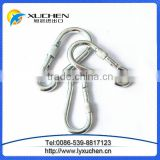 snap hooks with screw, steel carabiners made in china