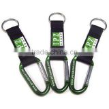 Carabiner hook with pvc label