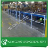 ball joint steel handrail and stanchion for steel platform