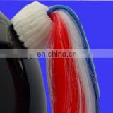 Factory direct sell helmet Pony Tails pigtail for Helmets wig Motorcycle bicycleSkateboard Snow Boarding
