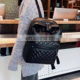 top seller unisex quilted PU backpack yiwu supplier