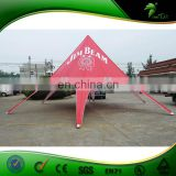 Outdoor Tents Red Star Tent For With Custom Printing For Event