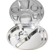 Stainless Steel 5 in 1 mess tray