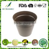 Pro-environment selling well good quality Bamboo Fiber Flower Pot