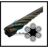 Bright Wire Rope EIPS FC - 6x19 Class (Lineal Foot)