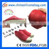 Soft sole folding outdoor beach eva slippers