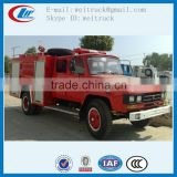 high performance 4x2 140hp 5cbm cheap water fire engine for sale