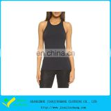 Customized Navy Blue Berathable Polyester Function Tank Top Pattern