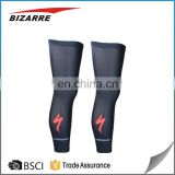 Sublimation custom leg sleeves cycling wholesale foot long sleeve compression