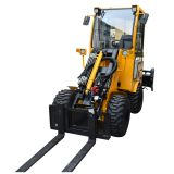pallet fork wheel loader forklift
