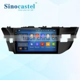 Newest Android car dvd player with GPS 1080P FHD video player Bluetooth Wifi 3G Dongle DVR via bluetooth