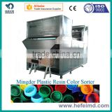 Plastic processing machinery, Color sorting machine for plastic