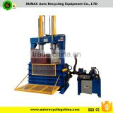 Waste tire baler compress machine
