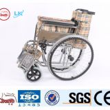 hot sale manual wheelchair with chrome plate