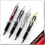 Metal ballpoint pen with Silicon rubber, silicon promotional pens