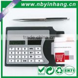Name card with pen mini slim card solar power pocket calculator XSDC0121