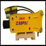 Easy Maintenance type top hydraulic breaker for excavator