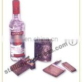 Wine Bottle & Cigarette Case Set
