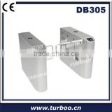 Safety beam sensor for automatic door, optical turnstile for building lobby access control system