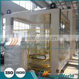 High level Automatic meat iron canned jar palletizer machine