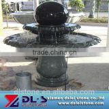 natural hand carved stone fountain