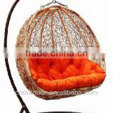 best selling rattan swing hanging chair