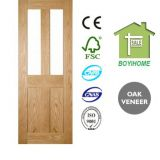 Veneered Oak Panel Door
