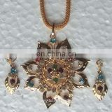 Gold plated jewellery pendant manufacturer, gold plated jewelry pendant exporter