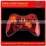 Chrome Red Wireless <b>Controller</b> with <b>LED</b> For <b>XBOX</b> 360 Wireless