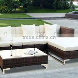 Garden wicker sofa