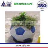 Chinese fashionable outdoor flower planter with 2015 football flower pot