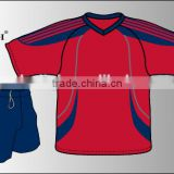 European style soccer jersey set/dry fit football uniform/wholesale soccer men fitted tracksuit