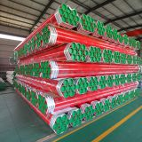 Plastic Coating Steel Pipe for Water Supply/ Fire Fighting