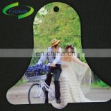 China cheapest blank MDF couples/lovers photos frame pendant