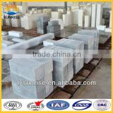 High quality fire resistant brick for fused cast skid rails block for hot metal ladle refractory brick