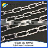 Ordinary mild steel link chain medium link chainof linyi factory