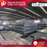 tianjin manufacturer hot galvanized steel pipe greenhouse gi pipe price
