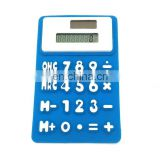 Flexible Silicone 8-Digit Display Calculator w/Memory Function and Auto Off