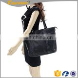 Business Laptop Bag Black Briefcase Handbag Canvas And Leather Messenger Bag Handbags & Messenger Bags