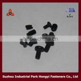 High Quality Carbon Steel Black Small Screws For Belt Buckle DIN                                                                         Quality Choice
