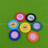 Home Play Sticker Poker Chip , Colorful Design Roulette Chip