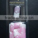 French nail tip FM8 , artificial nail tip , fashion nail tip