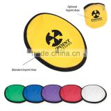 HOT SALE High Quality 100% polyester flying dics, promotion Foldable Frisbee