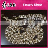 Fashion lady bag accessory metal decoration bag chain