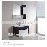 cheap bathroom vanity with mirror and basin,plastic bathroom cabinet for bathroom design
