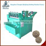 Dish metal pot scrubber machine