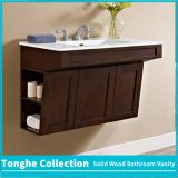 36 Inch Floating Hotel Bathroom Vanity Single Ceramic Vessel Sink