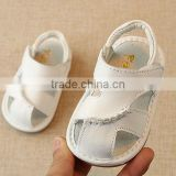 B21406A Baby simple leather sandals lovely Baby Toddler shoes
